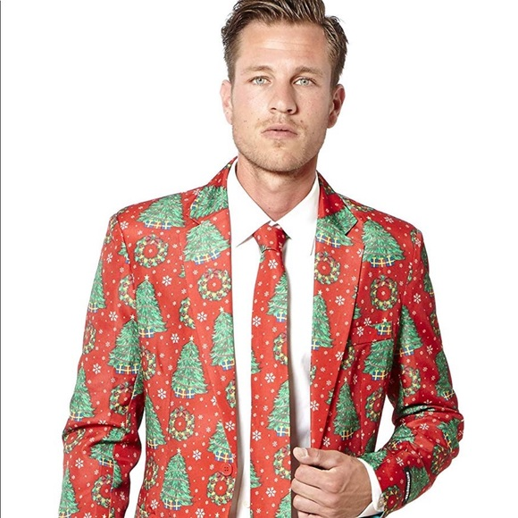 Christmas Suit.Suitmeister Christmas Suit Xmas Trees